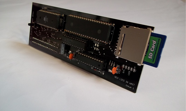 Sinclair ZX81 ZXpand Interface - Instand Loading and Saving